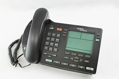 Genuine Nortel Networks NTDU82 IP Phone i2004 W/ Stand & Receiver NO AC Adapter