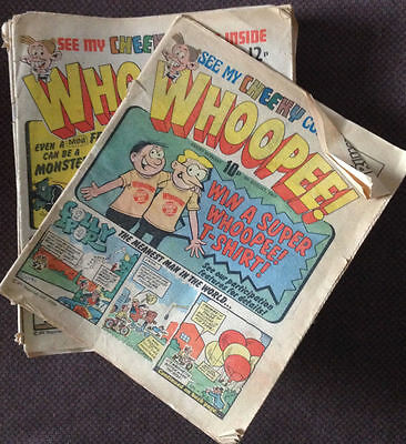Whoopee x 24 comics Job Lot (1980 - 1984)