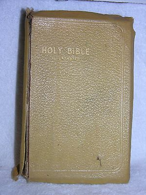 Holy Bible Red Letter King James Version Illustrated KJV 1913