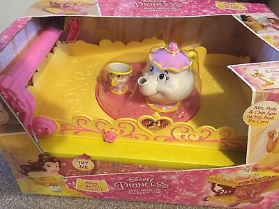 Disney Princess Belle Musical Tea Party Cart Beauty And The Beast
