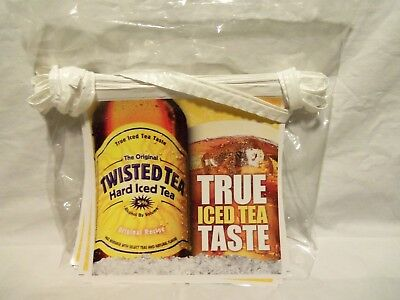 Twisted Hard Iced Tea Alcohol Vinyl Banner Man Cave 2009 Free Very Fast Ship!!!!