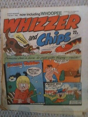 Whizzer and Chips 11th May 1985 Doctor Who Parody Issue Comic