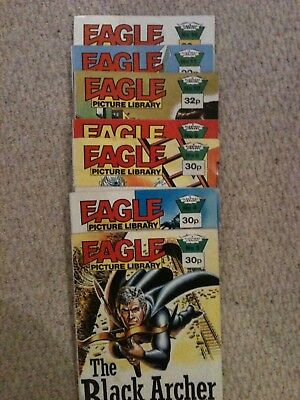 Eagle Picture Library Early Issues #3,4,5,6,9,10,11,14 Job Lot