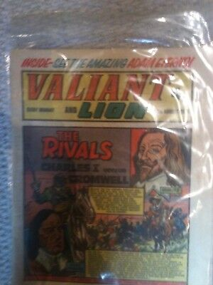 Valiant and Lion 3rd August 1974 VF
