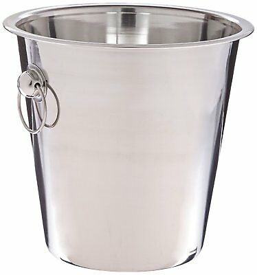 Wine Bottle Cooler Champagne Stainless Steel Party Bar Ice Bucket 4 Qrt