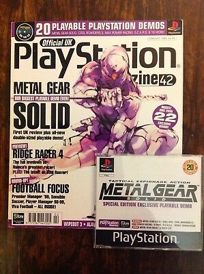 Official Playstation Magazine UK Including Disc Issue #42 Feb1999