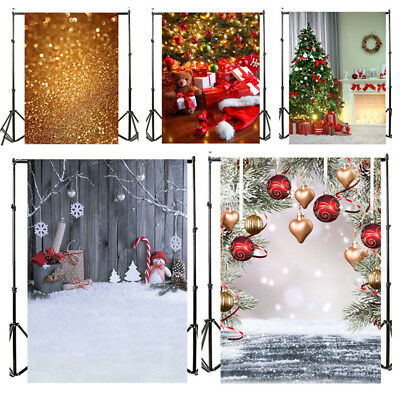Backdrops 5x7ft Christmas snowflake white snowman Photography Backgrounds 3x5ft