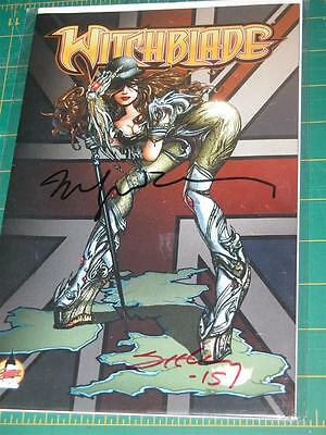 Witchblade #164 London Super Comic Con Variant signed by Sienkiewicz & Seeley NM