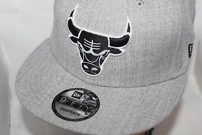 new product 5f9e1 d7f6f Chicago Bulls New Era NBA The Heather Boy 9FIFTY Snapback,Cap,Hat NEW