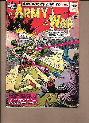 "Our Army At War  #145 1964  Dc  Vg  ""sgt. Rock's-Easy Co."" Kubert"