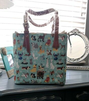 NWT 2017 DISNEY DOGS DOONEY & BOURKE Tote bag purse handbag!! BRAND NEW Sold Out