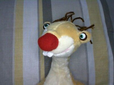 """Sid Sloth from Ice Age 3 11"""" Soft Toy Plush by Posh Paws"""