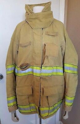 2001 Firefighter Turnout Jacket - Costume - Vintage - Has seen action!