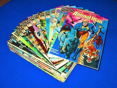 Lot of 46 ANIMAL MAN Issues 1 - 50 MINUS 3, 33, 44, 46 [DC 1988] VF or Better