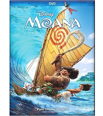Moana DVD Movie, Auli'l Cravalho (2016) Animation