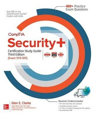 Comptia Security+ Certification Study Guide, Third Edition (Exam Sy0-501) (Mixed