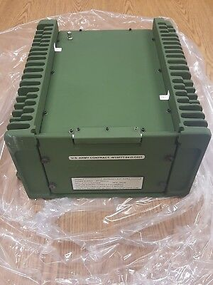 Military Tactical Power Supply PP-2953 D/U, Ideal for SINCGARS RT-1523 Radios!