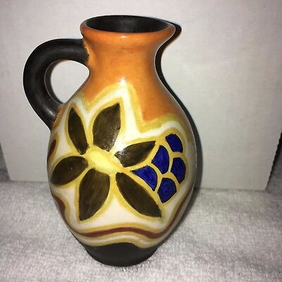 Gouda Small Pitcher, A lovely single handled piece, Made in Holland
