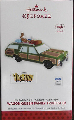 Hallmark National Lampoon's Vacation Wagon Queen Family Truckster Ornament New