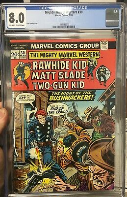 Mighty Marvel Western #30 CGC 8.0 THIRD HIGHEST GRADED EVER