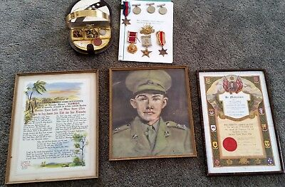 World War 2 1939-1945 Star Medal Defence Medal Pictures Service Record Kiama