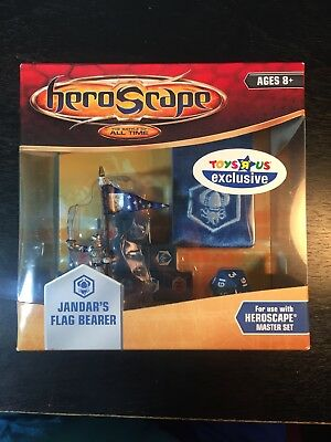 Heroscape Jandar's Flag Bearer Crest of the Valkyrie Sir Gilbert NIB