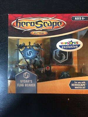 HEROSCAPE VYDAR'S FLAG BEARER New in Box Laglor Crest of the Valkyrie