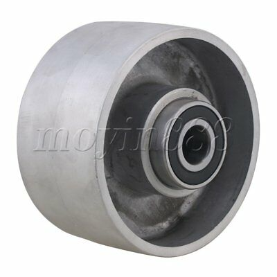 Belt Sander Aluminum Belt Grinder Tracking Wheel with Bearing 125mm Dia