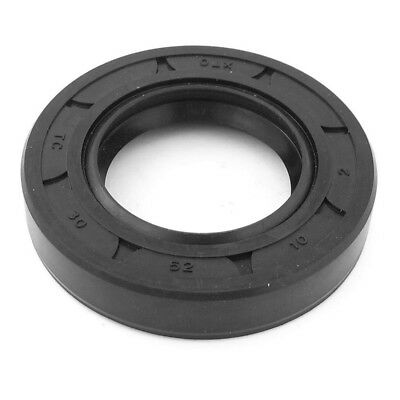 Oil Resistant Water Cooling Pump Mechanical Seal 30x52x10mm, Black O9I1