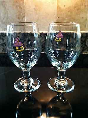 Southern Tier Brewing New Pr. Of Warlock Pumking 14Oz. Beer Goblets Free Ship.