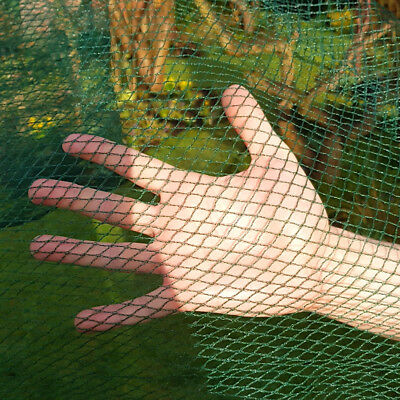 PROTECTION BUTTERFLY NETTING VEG CROP PROTECTION ANTI BIRD 8m Wide GREEN
