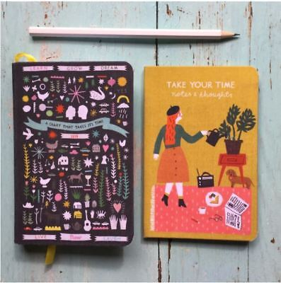 Flow Diary 2018 + NoteBook A Diary that Takes its Time