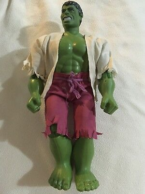Vintage 1978 Marvel The Incredible Hulk Action Toy (shirt&shorts)