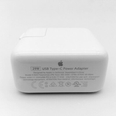 "Original 29W USB-C Power Charger Adapter A1540 for Apple MacBook 12"" A1534"