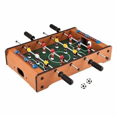 Classics 20-Inch Wooden Table Top Foosball/Soccer Game New