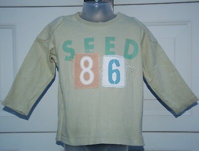 """SEED """"86"""" Long Sleeved Top - Size 2/3 - EUC"""