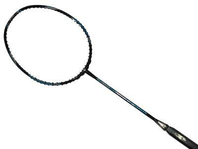 Apacs Feather Weight 55 (Black/Blue) Badminton Racket FREE String & Grip (NEW)