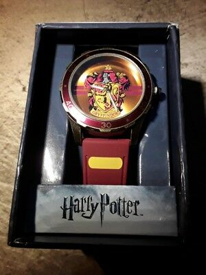 NEW Harry Potter Gryffindor Limited Edition Wrist Watch New in Box RARE