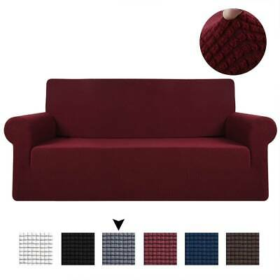 Water Resistant 2/3 Seaters Couch Cover Removable Fabric Lounge Slip/Protector