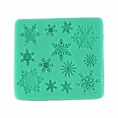65036 snowflakes silicone cake decorating cutters molds chocolate mould baking