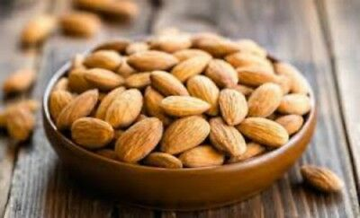 ALMONDS Fresh Bulk Raw Whole Sweet Indian Almond Kernels free shipping 250 GM