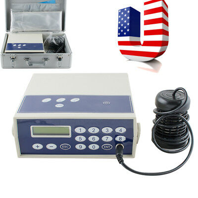 USA*  Professional Ionic Detox Foot Bath & Spa Chi Cleanse Machine Far infrared
