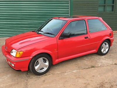 1991 Ford Fiesta RS Turbo - restored with thousands spent in recent years