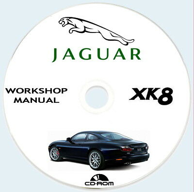 Workshop Manual Jaguar XK8 1996/2006