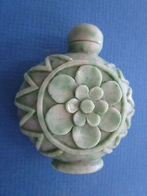 Asian Hard Stone Hand Carved SNUFF Bottle