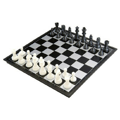 Magnetic Folding Chessboard Chess Board Set Xmas Gift Kids Education Game Toys