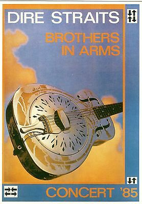 Dire Straits 1985 Brother In Arms Concert (Limited Edition LE253