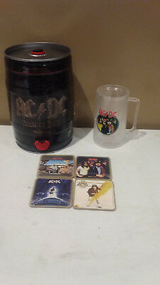 Ac/dc Cllectables - Mini Beer Kg, Mug & Coasters