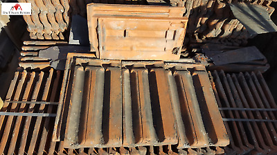 Reclaimed Second Hand Clay Double Roman Roofing Tiles