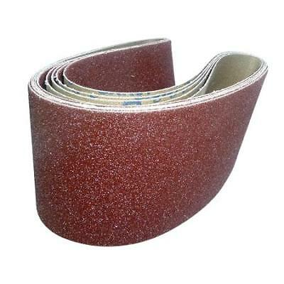 Cloth Sanding Belts 100mm x 915mm. Quality Belts.Various Grits, Quantities